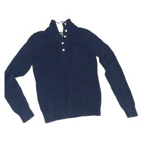 Military looking cotton sweater